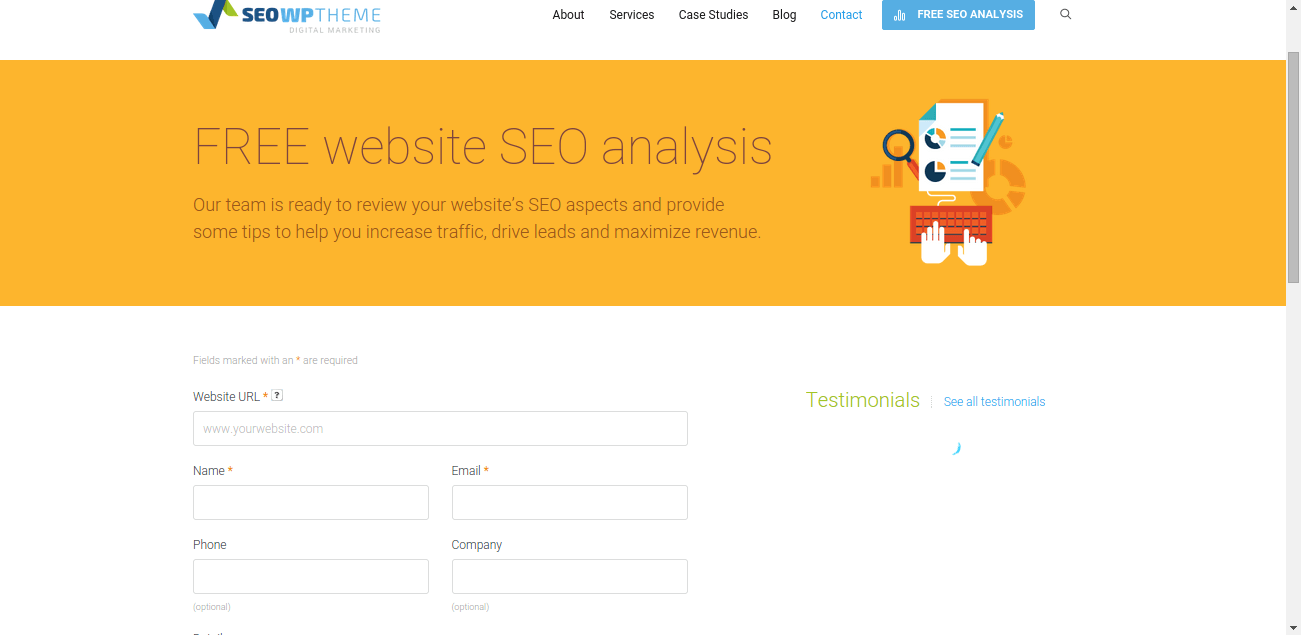 SEO Analysis of Site -SEO Wp