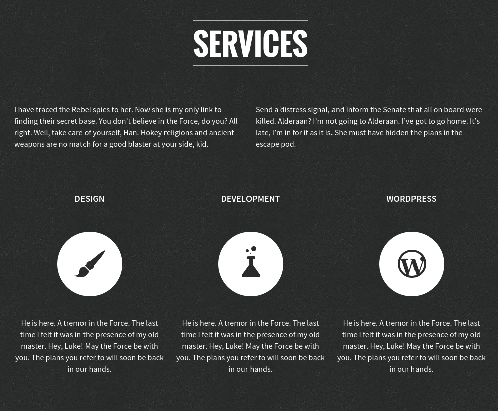Services on SCRN