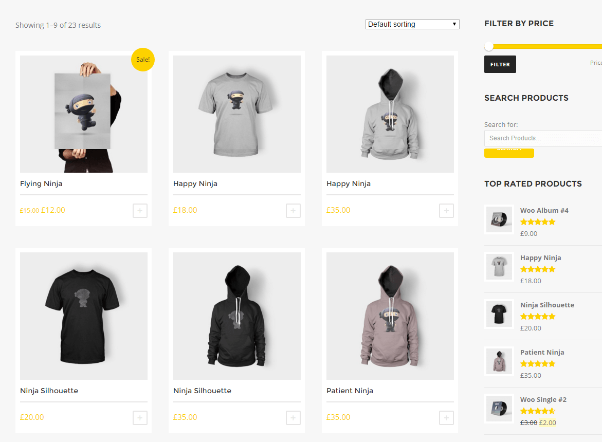 Story- Shop page of this theme