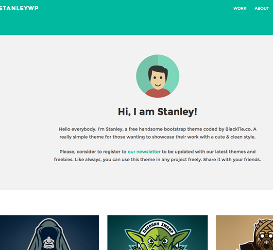 Stanley WP-Twitter Bootstrap WordPress Theme