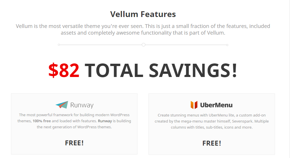 Vellum with beautiful and responsive design features
