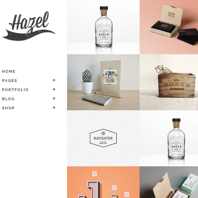 Hazel- Multi Concept Creative Wordpress Theme