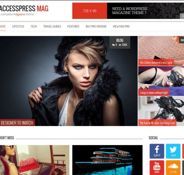 AccessPress Mag - Simple and perfect Magazine theme