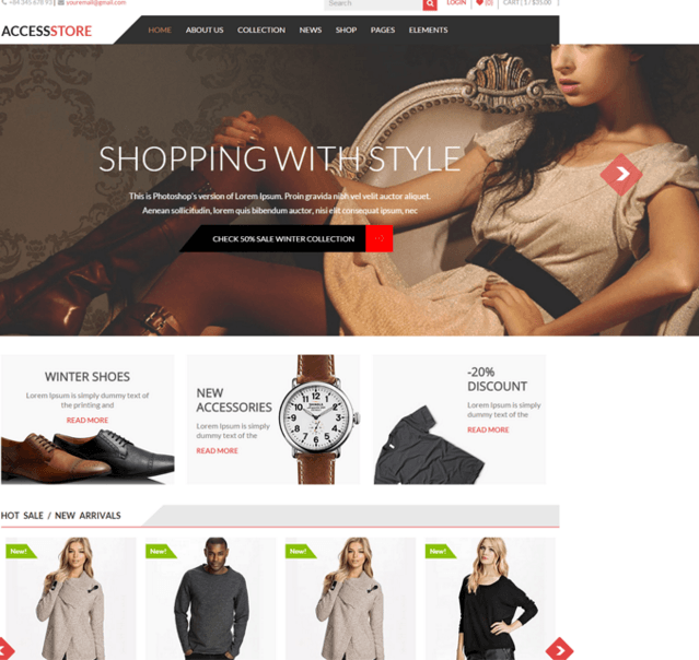 AccessPress store -Best eCommerce theme