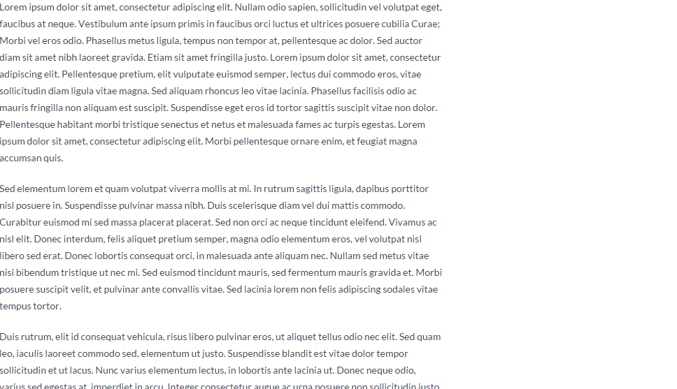 Blog page of Lawyeria theme