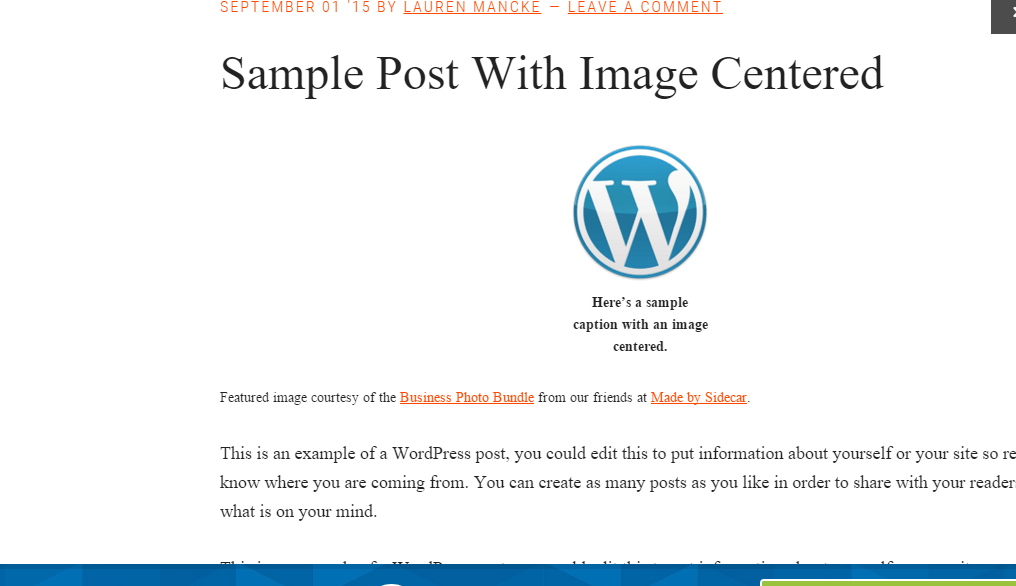 Blog page of Workstation pro theme