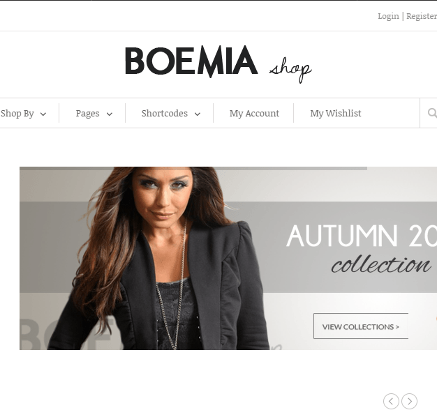 Boemia- A perfect WP Woocommerce theme for brands