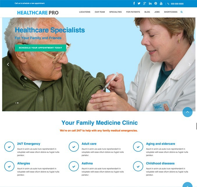 Dental clinic pro Homepage