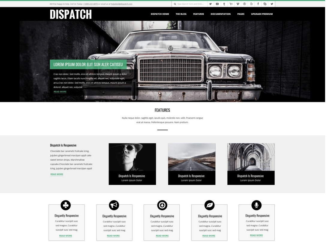 Dispatch Complete Page