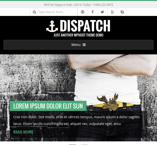 Dispatch - WordPress Theme