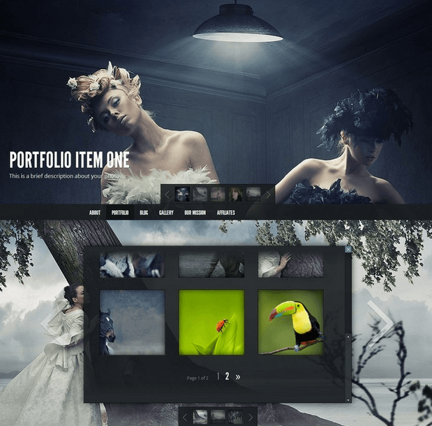 Gleam - Business related portfolio theme