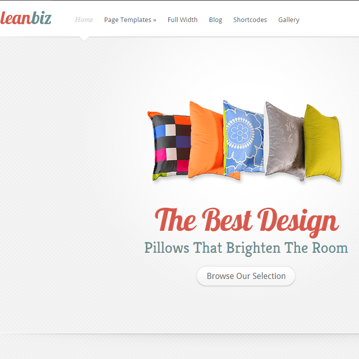 LeanBiz- Elegant Corporate WordPress Theme