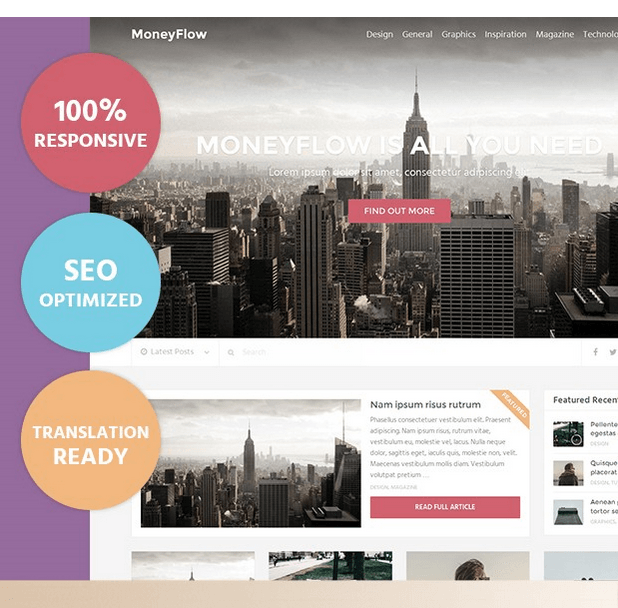 MoneyFlow Theme