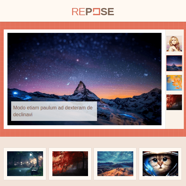 Repose is a flexible, multi-format WordPress theme that is perfect for blogs, businesses, news portals and shops. With a fully customizable color scheme, Repose is WooCommerce ready and loaded with video post format to help you build your site quickly and easily.