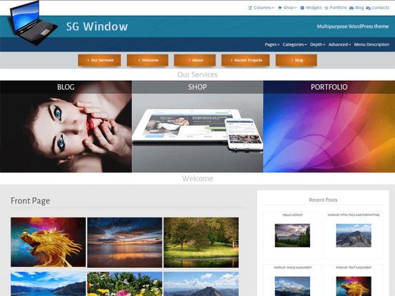 SG-Windows-WordPress-Theme-Responsive