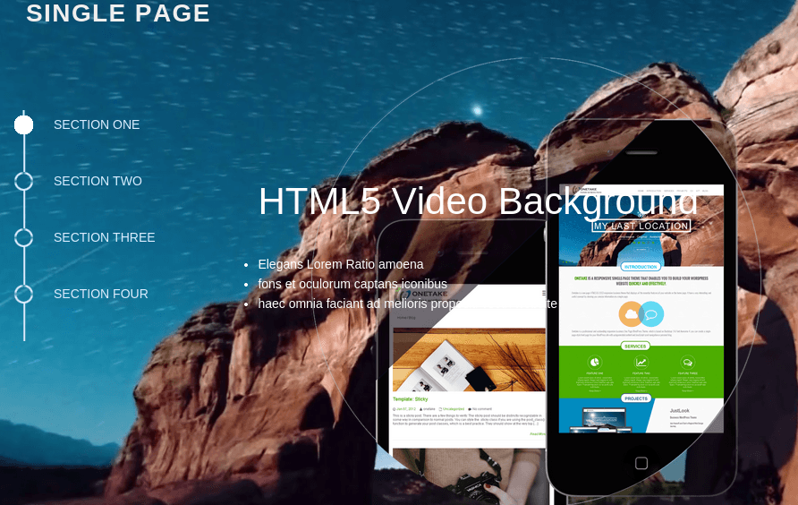 Single-Page-WordPress-Responsive-Theme-With-Video