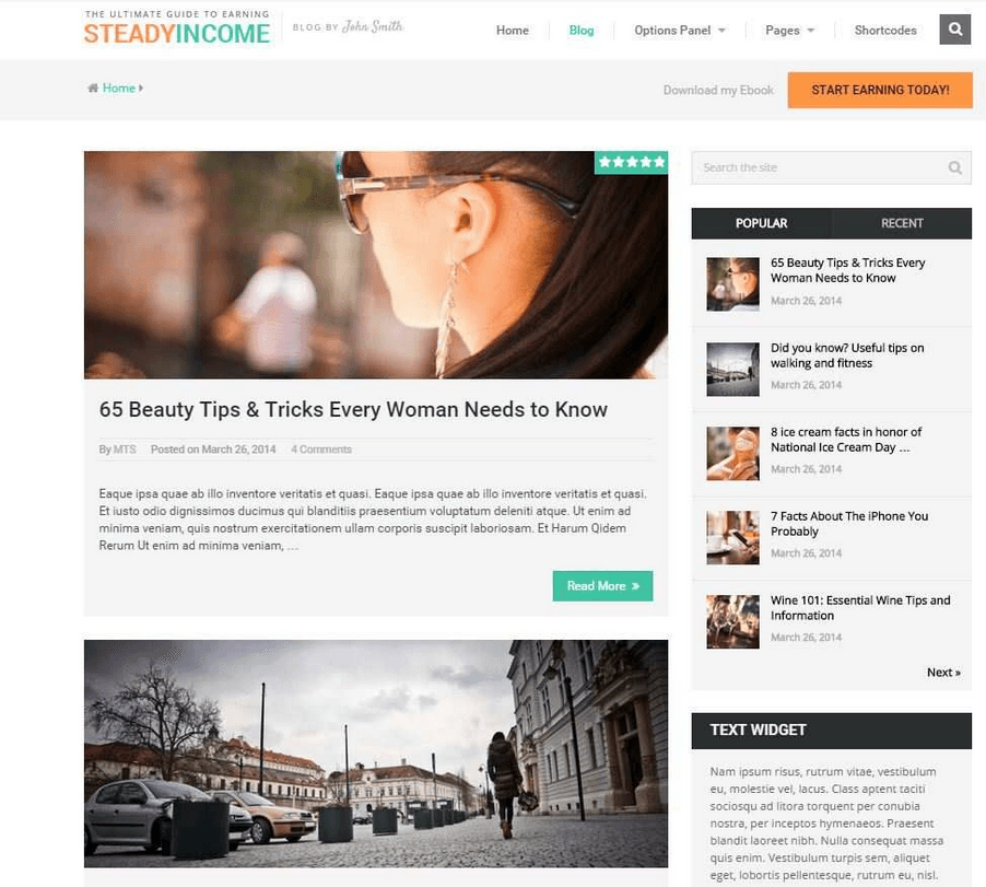 SteadyIncome Blog