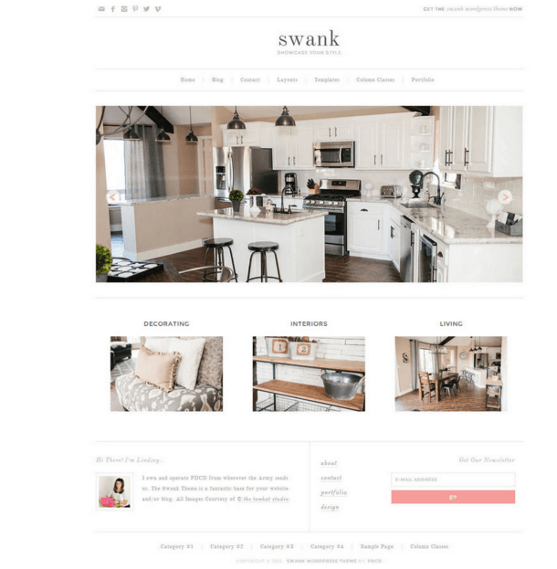 Swank Theme - Business WordPress theme