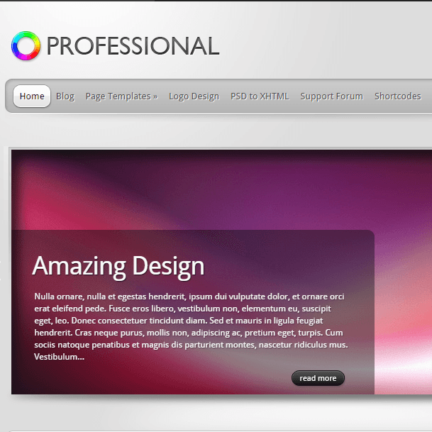 TheProfessional- Amazing WordPress Corporate Theme