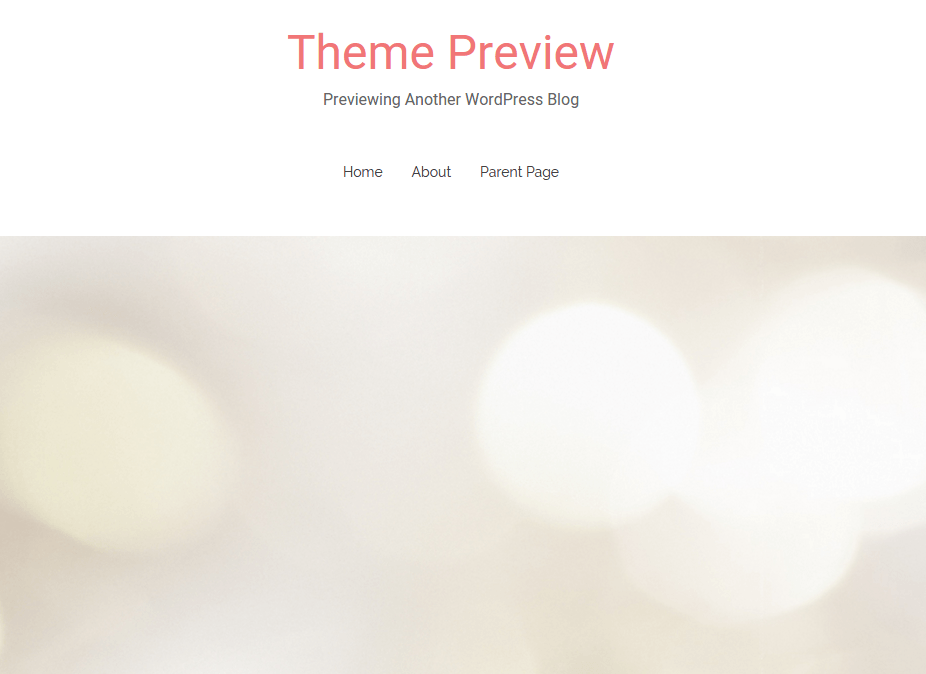 Theme Preview of Match