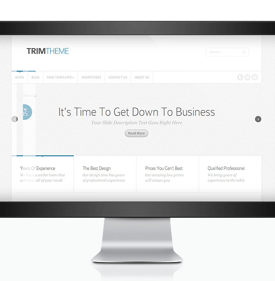 Trim - Business wordpress theme