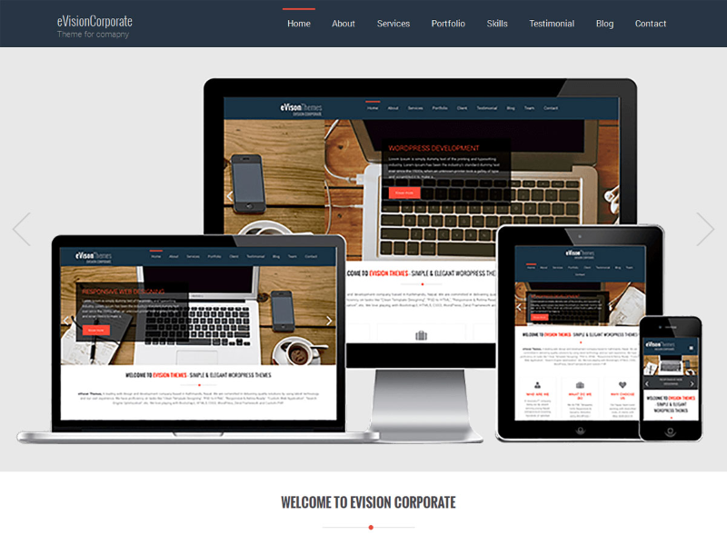 evision-corporate-Wordpress