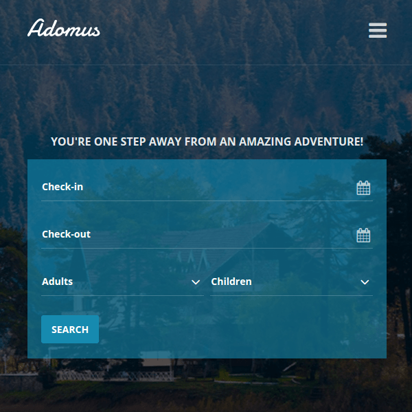 Adomus - Hotel WordPress Theme