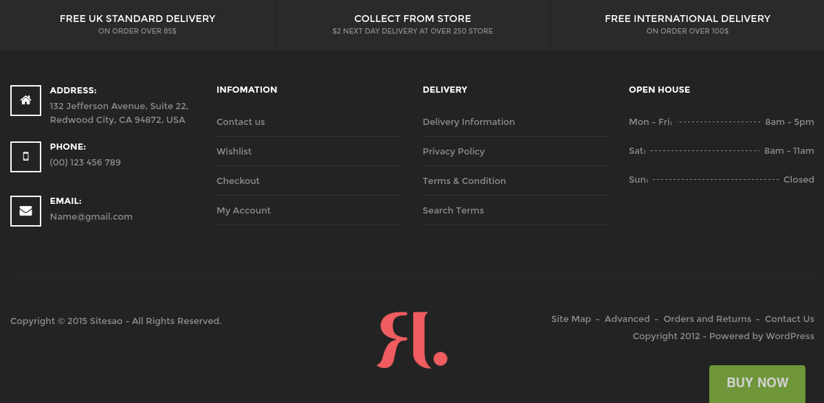 Astore Footer