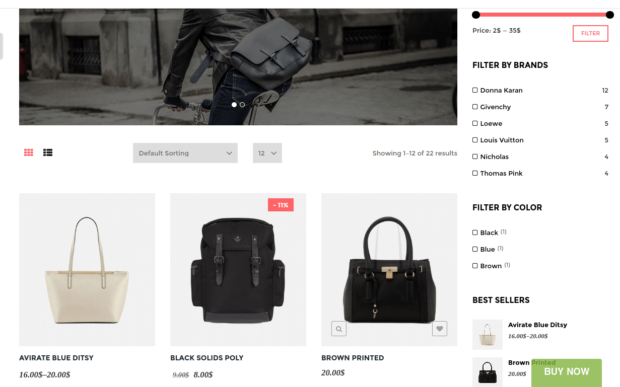 Astore Shop Page