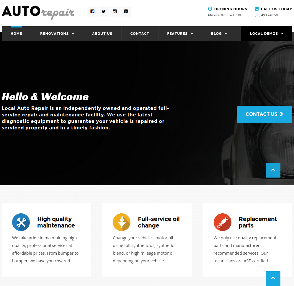 Auto-repair-Localbuisness-wordpress-theme