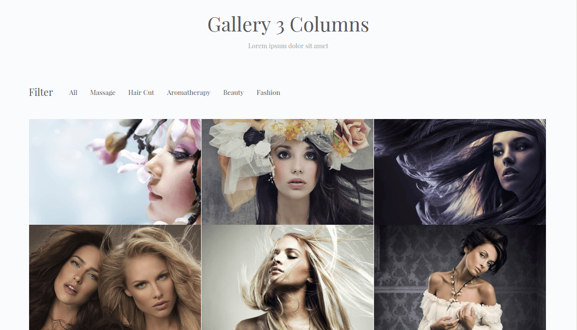 BeautyPress Gallery Page