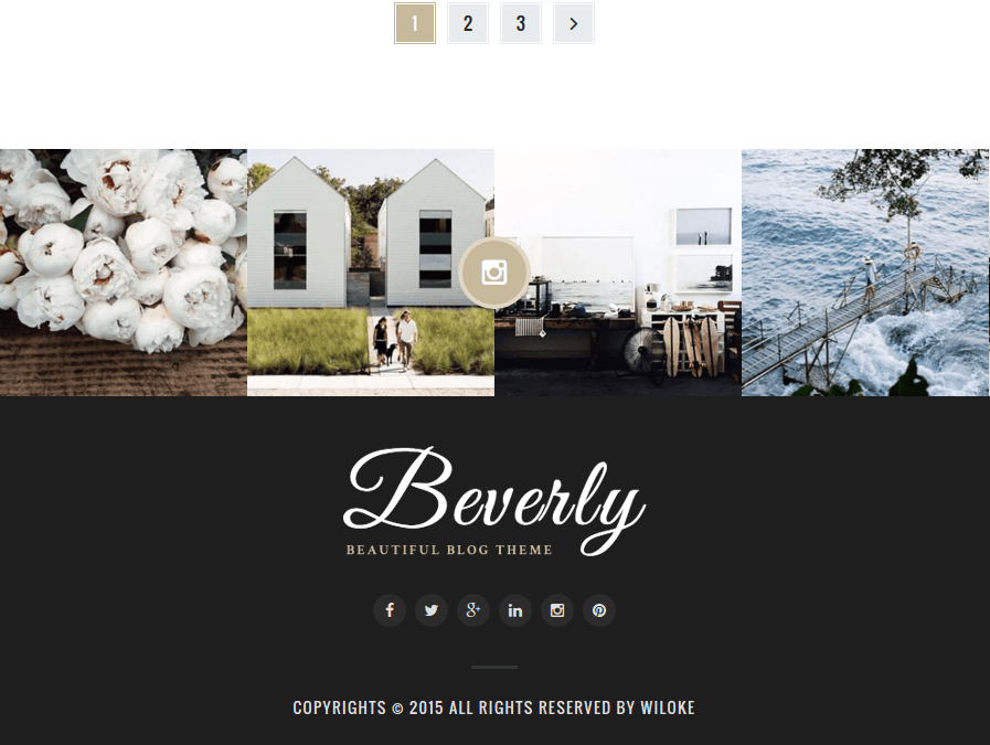 Beverly Footer