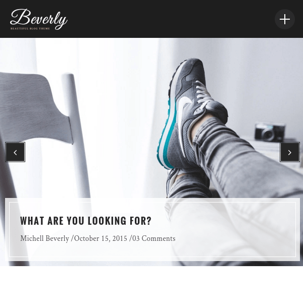 Beverly - Modern WordPress Blog Theme