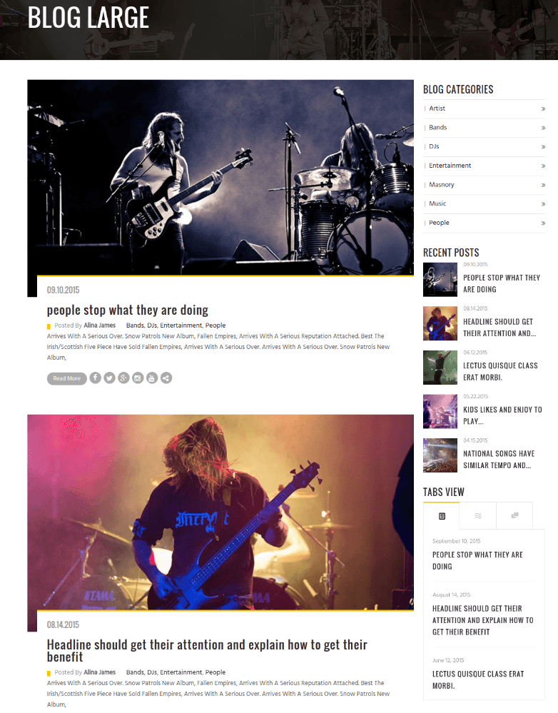 Blog Page of Rockit
