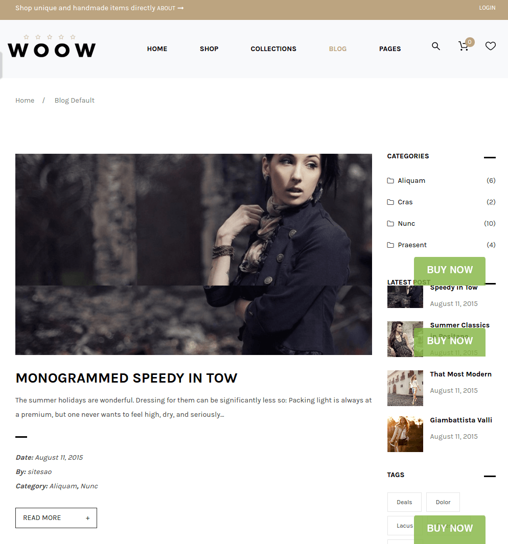 Blog-Wordpress-Woow-theme