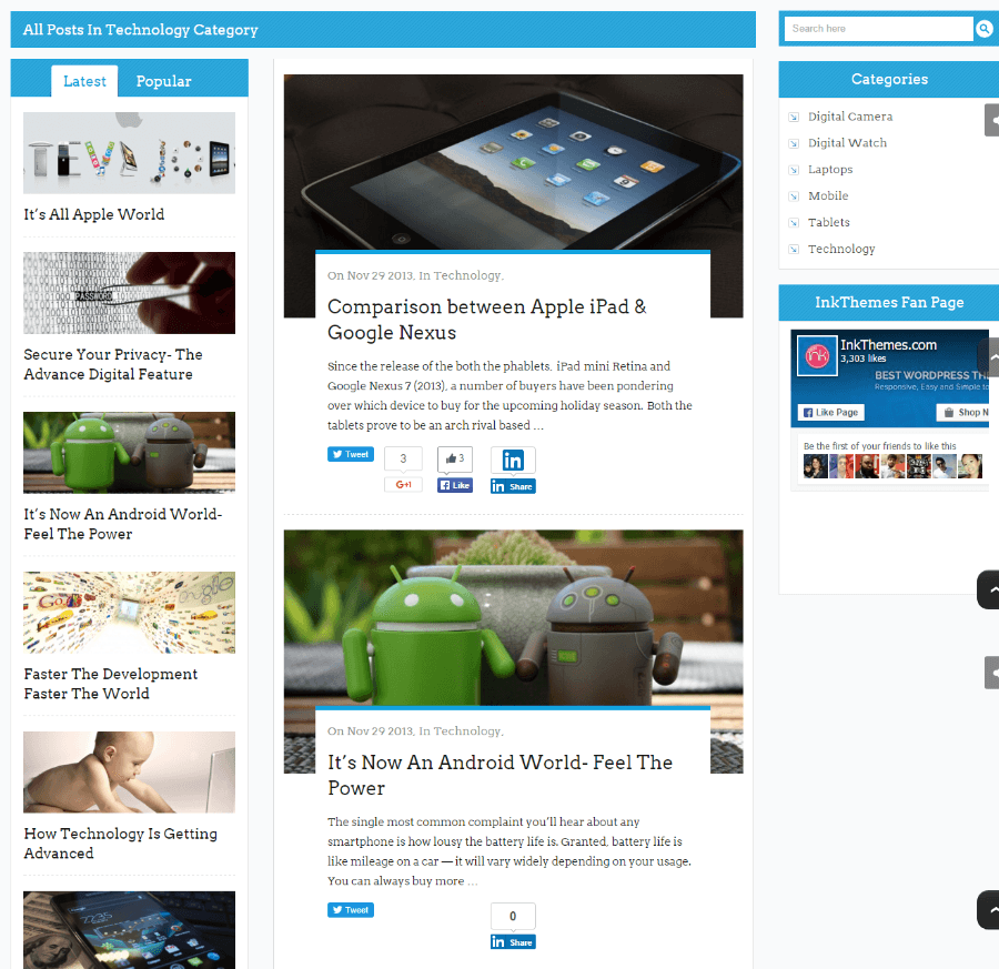 BlogSpring - All posts in technology category.