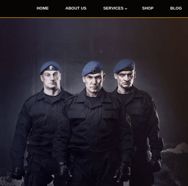 Bodyguard homepage