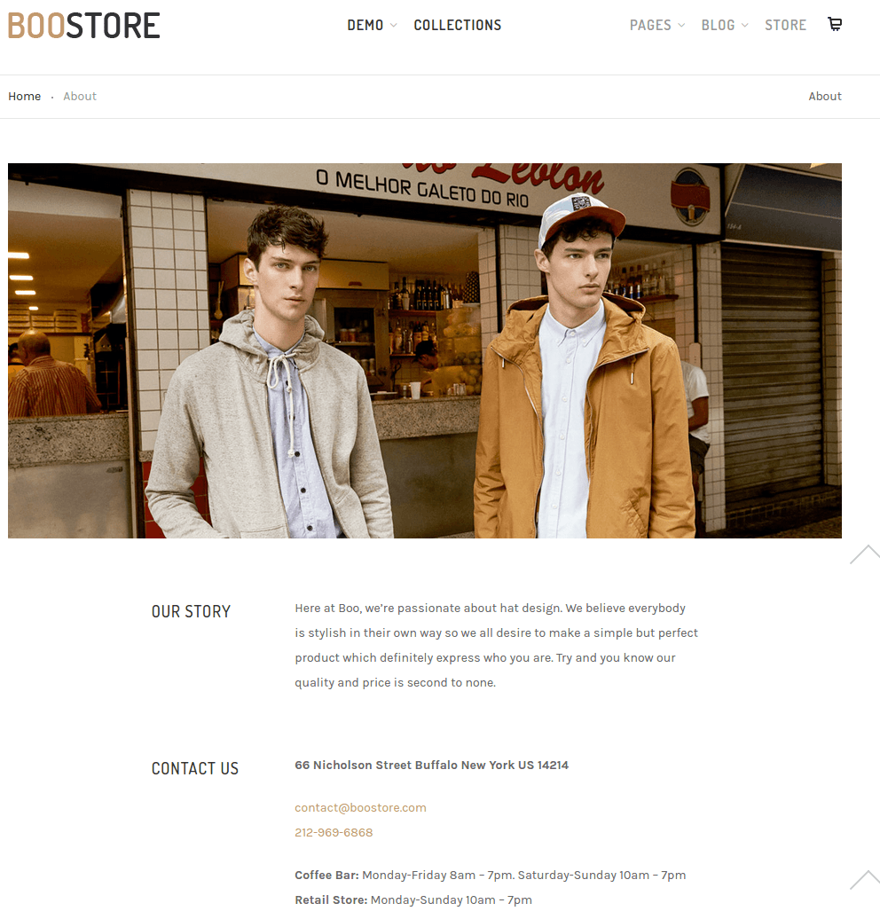 BooStore-WordPress-theme