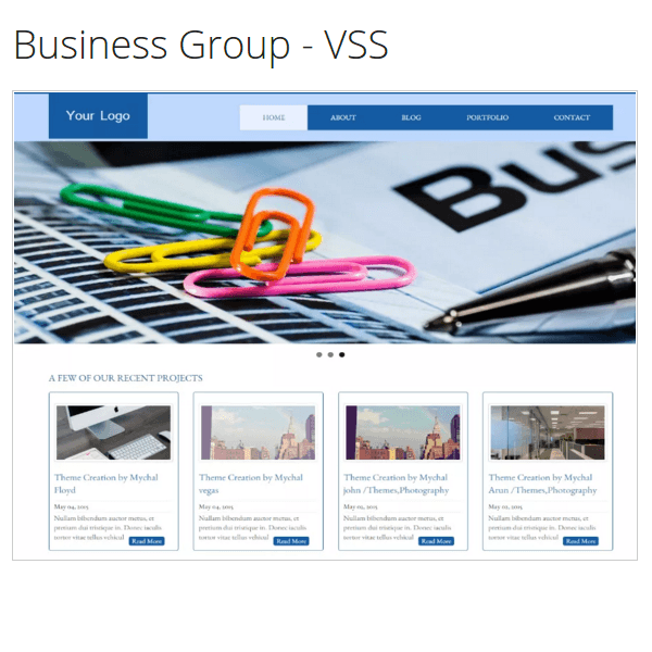 Business Group - VSS WordPress Theme