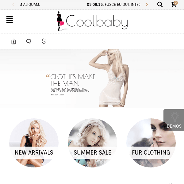 Coolbaby - Original WooCommerce theme