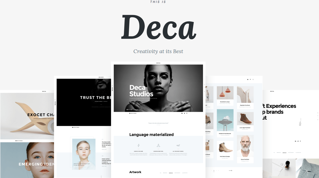 DECA Main Page