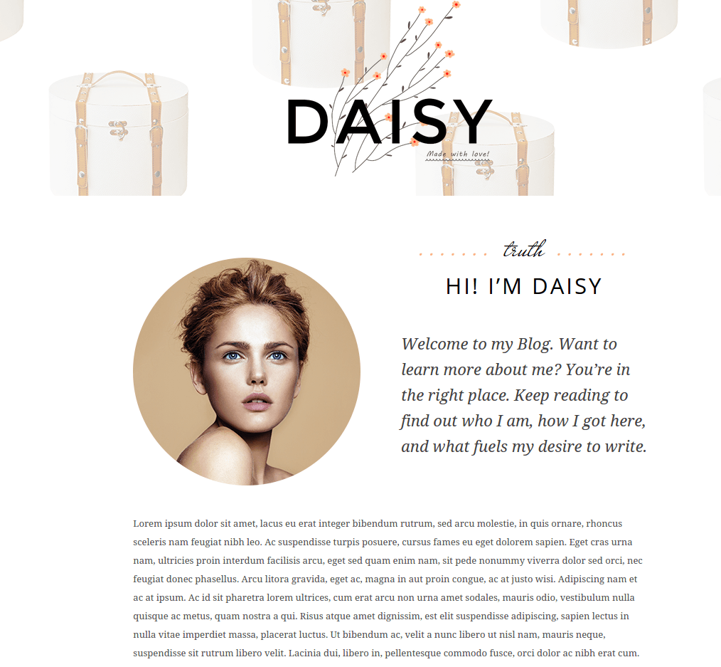 Daisy About Us Page