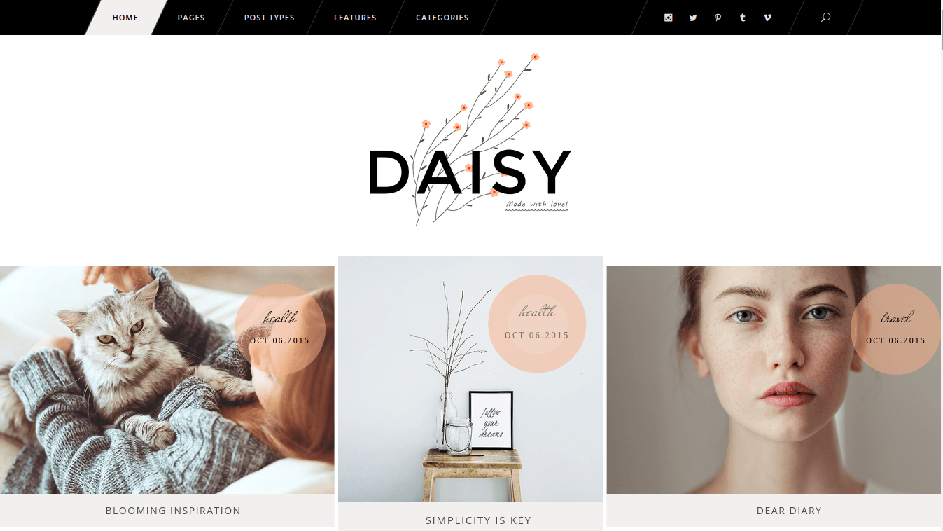 Daisy Home Page