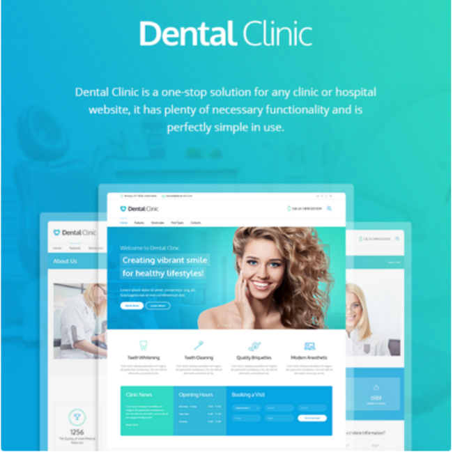 Dental Clinic Theme