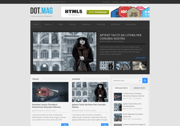 DotMag WordPress Theme