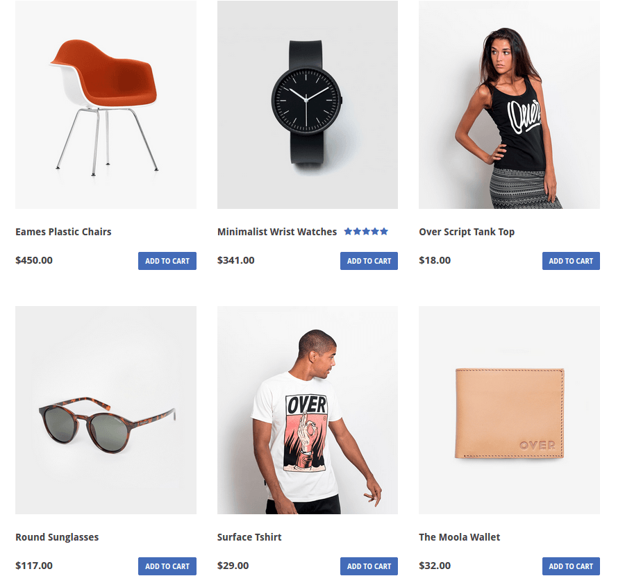 Immensely Shop Page