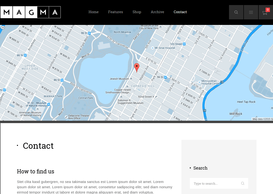 Magma Contact Page