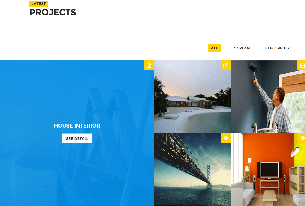 Mega Architecture Projects Page