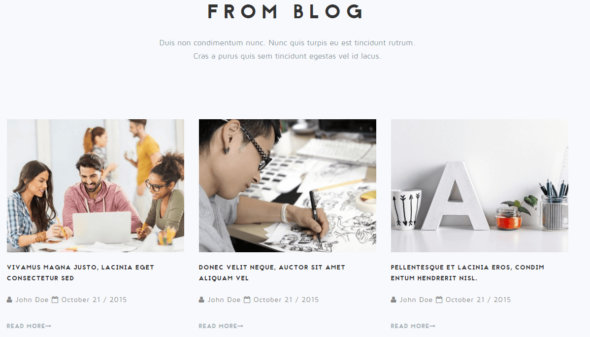 NRGagency- Blog section of this theme