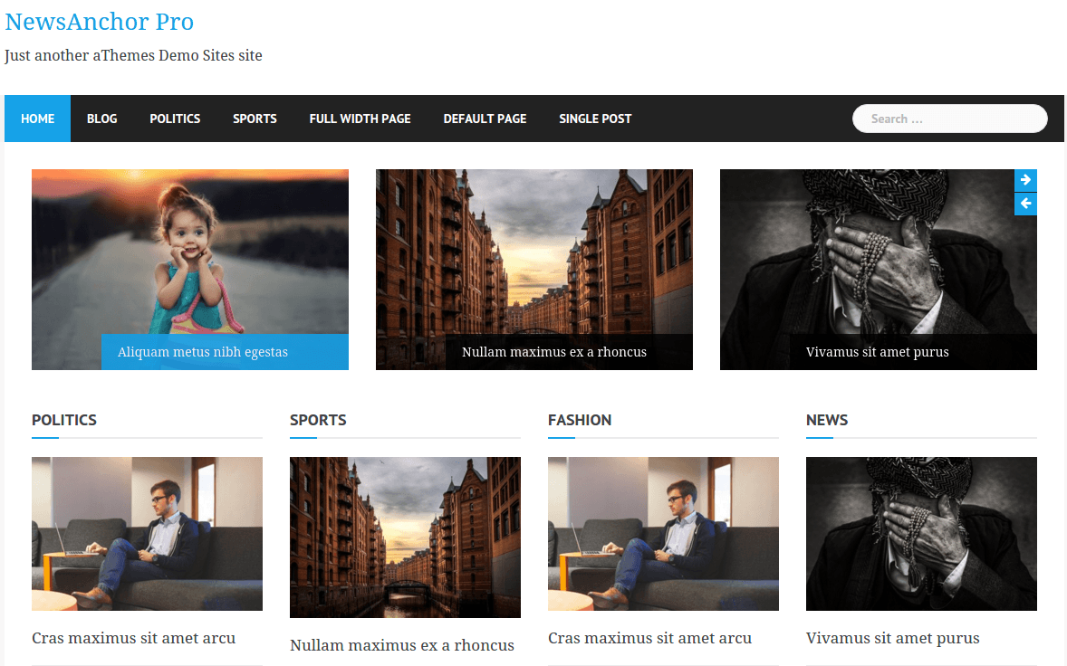 NewsAnchor Pro Home Page